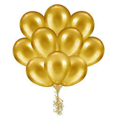 Золотые шары купить в Москве - Студия Шар Арт